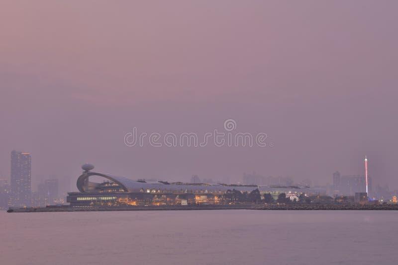 Kai Tak Cruise Terminal lizenzfreies stockbild