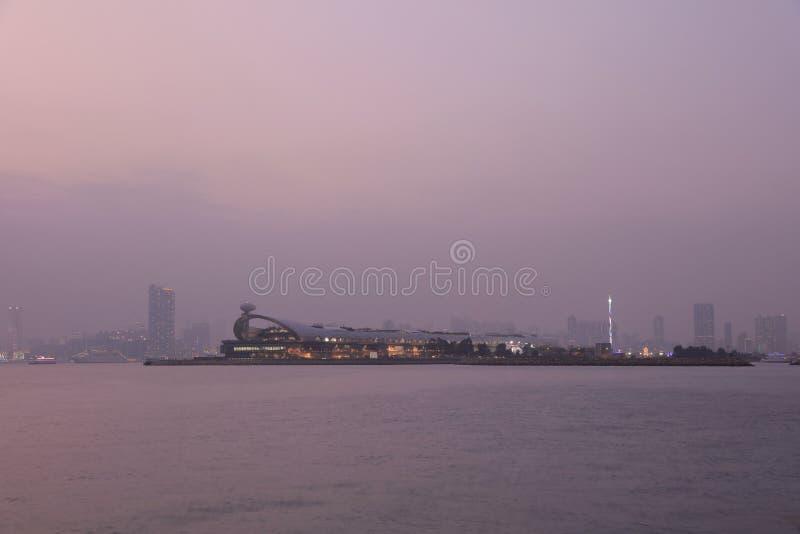 Kai Tak Cruise Terminal lizenzfreies stockfoto