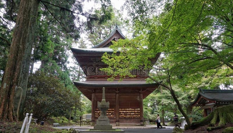 Kaidan-i montering Hiei royaltyfria bilder