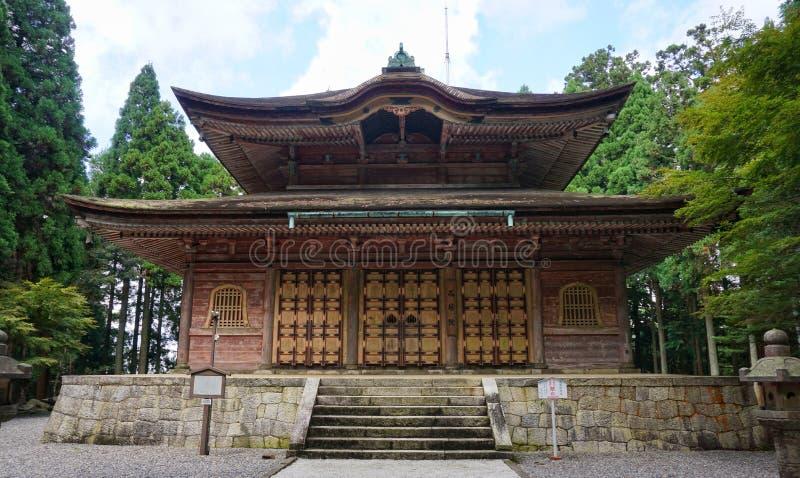 Kaidan-i montering Hiei royaltyfri bild