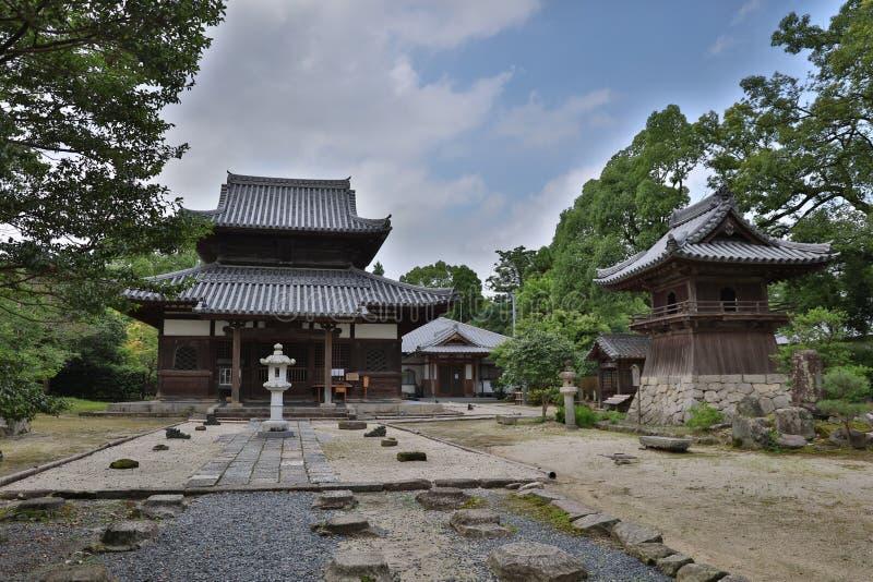 Kaidan wewnątrz w Fukuoka, Japonia fotografia royalty free