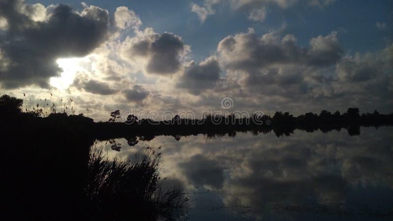 Kaifas sjö royaltyfri fotografi