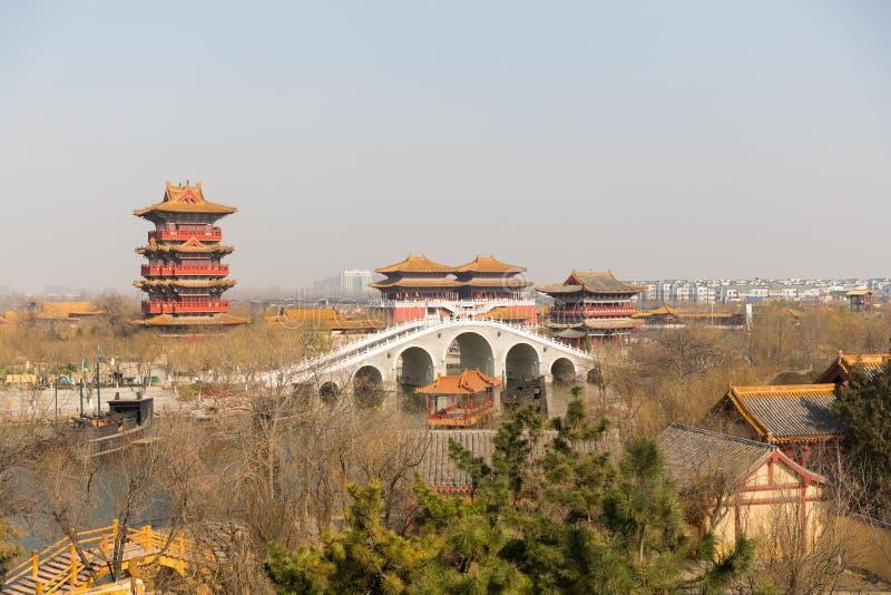 Kaifeng Henan China imagen de archivo