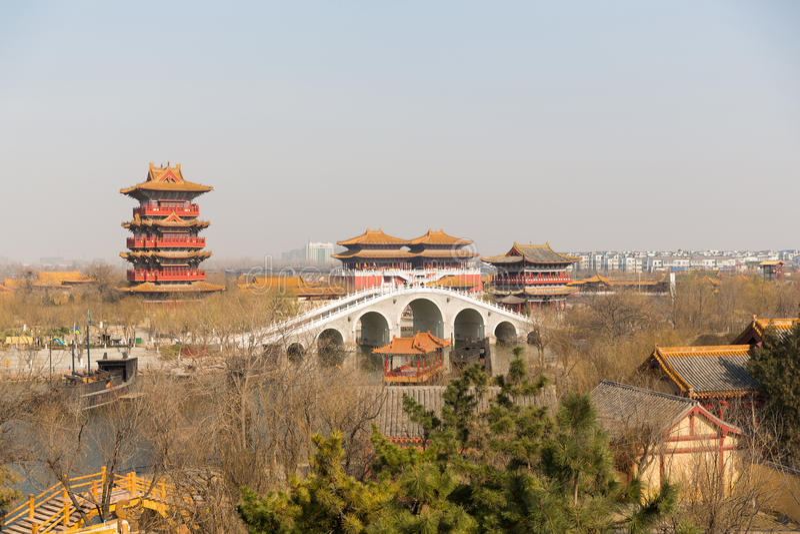 Kaifeng Henan China stock image