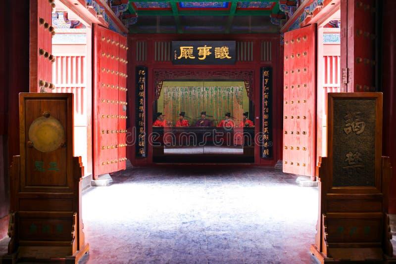 Kaifeng Henan, porslin royaltyfri bild
