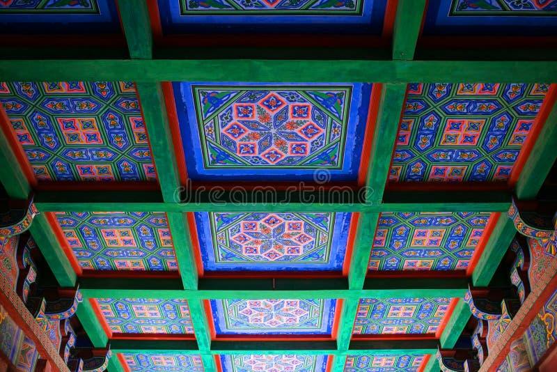 Kaifeng Henan, porslin arkivfoto