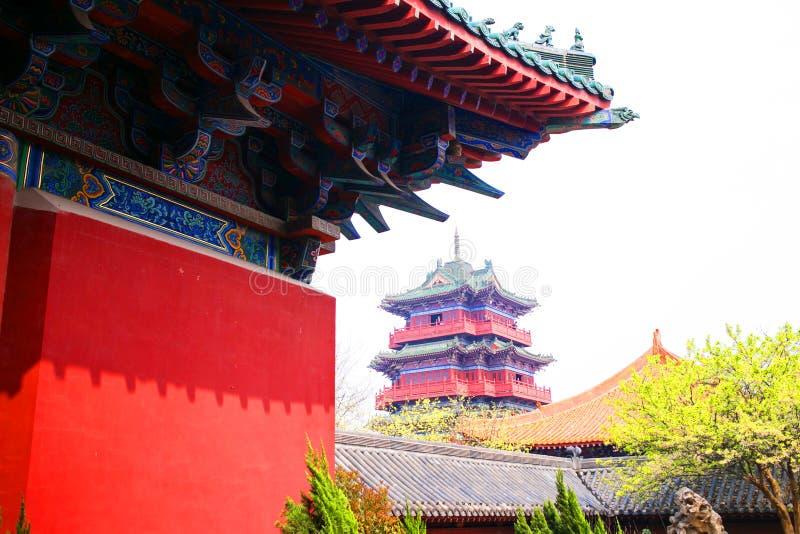 Kaifeng Henan, porslin royaltyfria foton