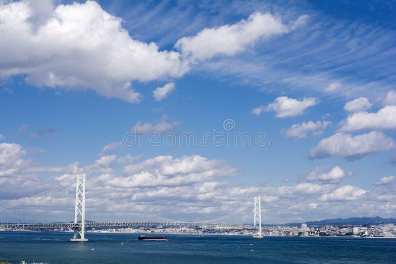 kaikyo моста akashi стоковые изображения