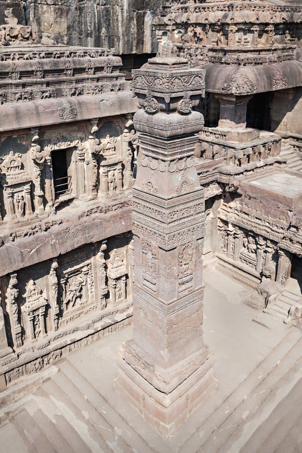 Kailas Temple, Ellora photos stock
