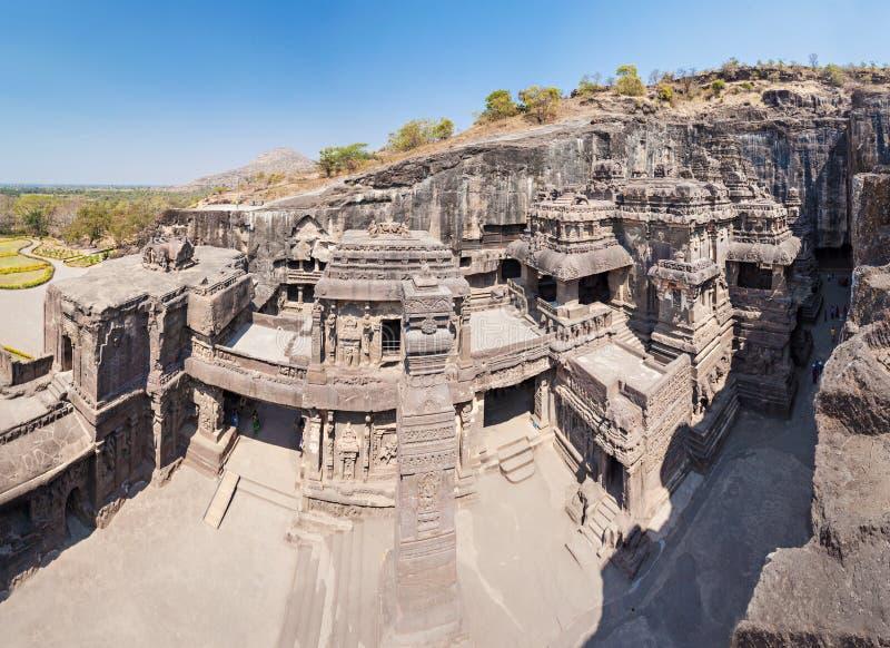 Kailas Temple, Ellora image libre de droits