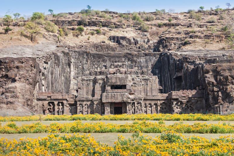 Kailas Temple, Ellora photo stock