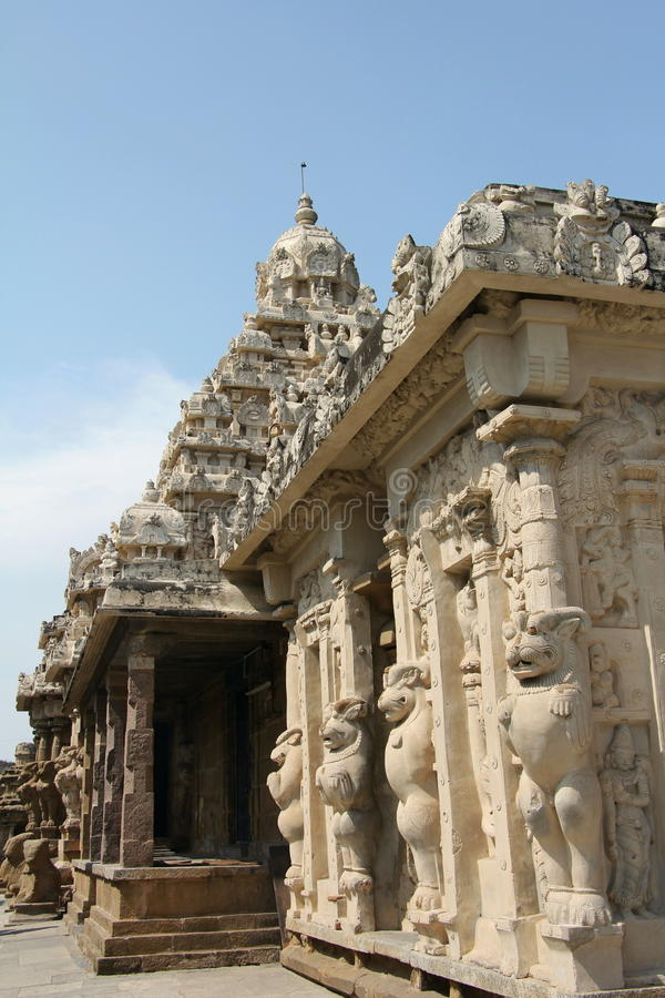 Kailasanathatempel stock foto