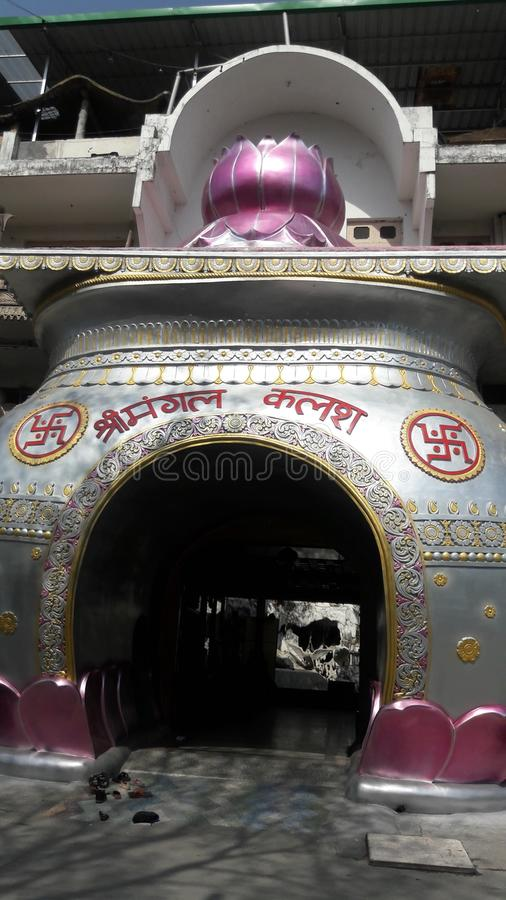 Kailash świątynia obraz royalty free