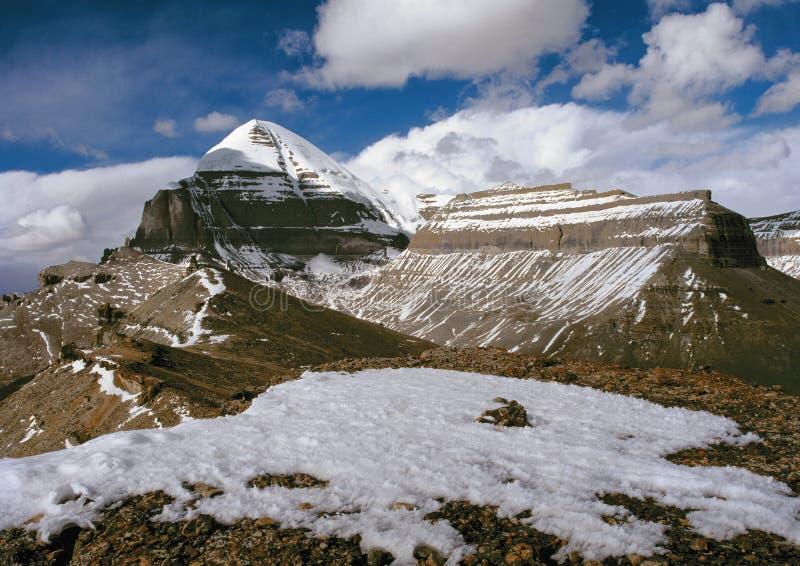 Kailash. Die Mitte der Welt stockfotografie