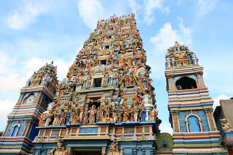 kailawasanathar sriswami för devasthanam royaltyfri foto