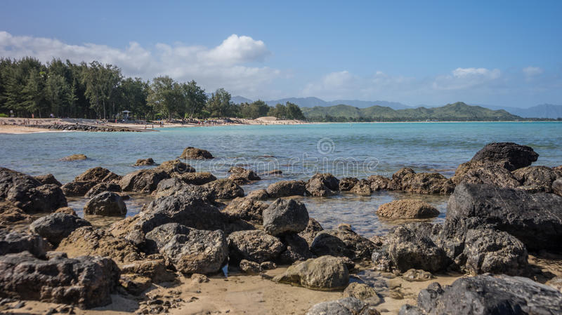 Download Kailua Bay Coastline stock photo. Image of holiday, scenic - 41645134