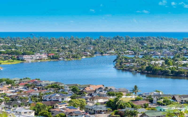 Kailua encantó los lagos imágenes de archivo libres de regalías