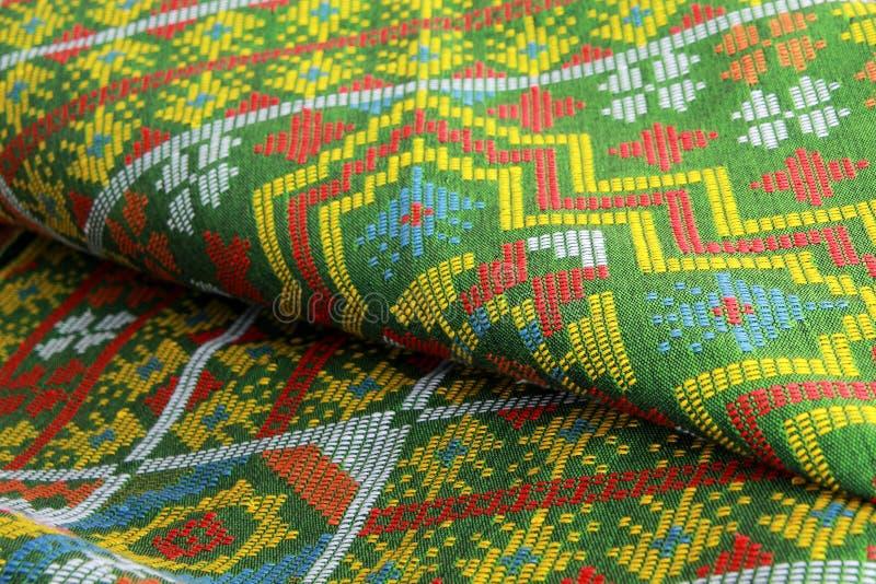 Kain Dastar ou matéria têxtil de Dastar imagens de stock royalty free