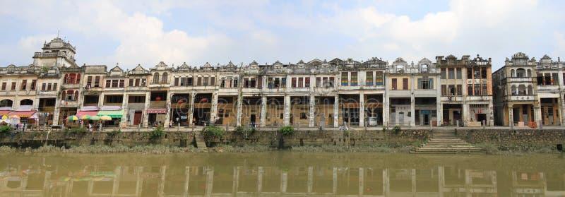 kaiping παλαιό χωριό στοκ εικόνες με δικαίωμα ελεύθερης χρήσης