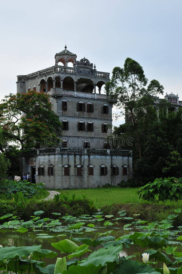 Kaiping Diaolou, Chine photos stock