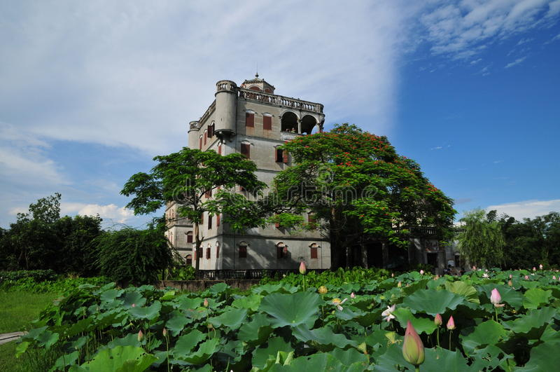 Kaiping Diaolou, Chine images stock