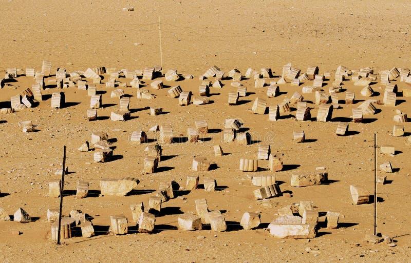 Kair przyciągania Egipt, Afryka obrazy royalty free