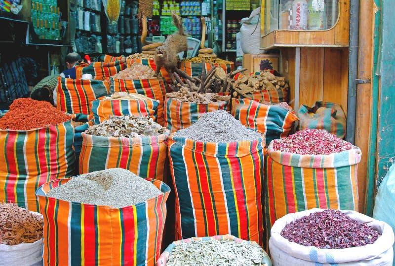 Kairo-Basar stockbilder