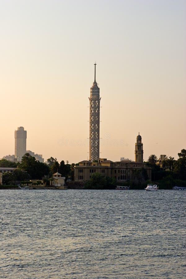Kairo-Kontrollturm lizenzfreies stockbild