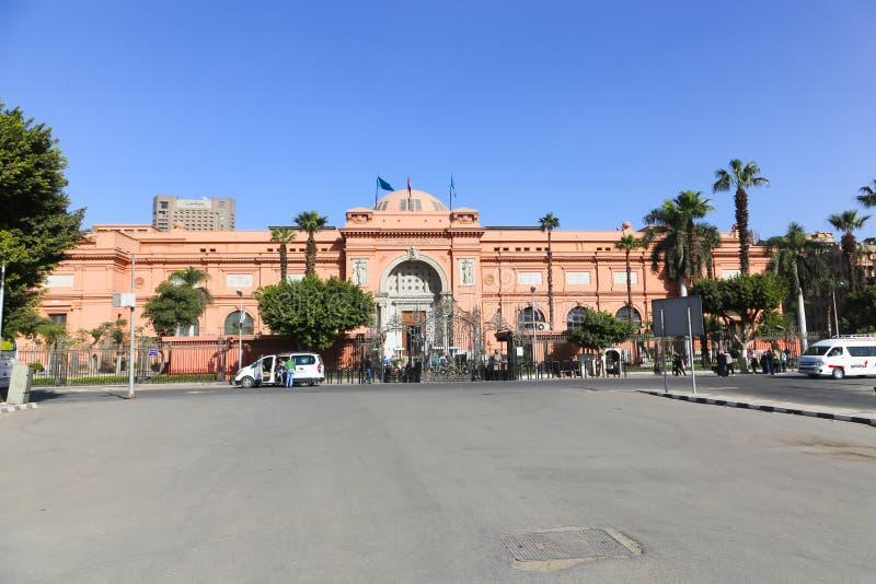 Kairo-Museum Ägypten lizenzfreies stockbild