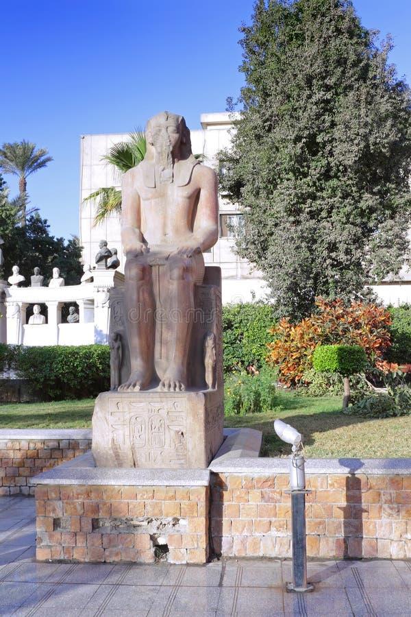 Kairomuseum av Egyptology arkivfoton