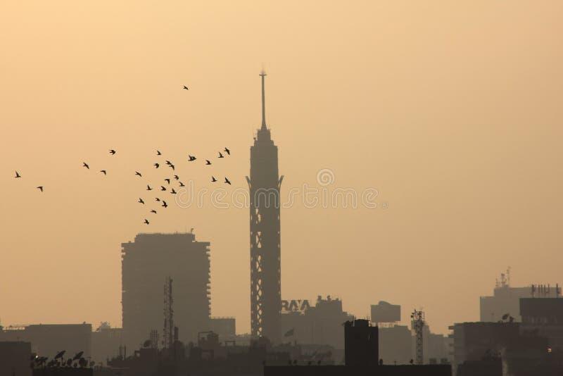 Kairotorn royaltyfria bilder