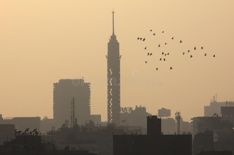 Kairotorn royaltyfri bild