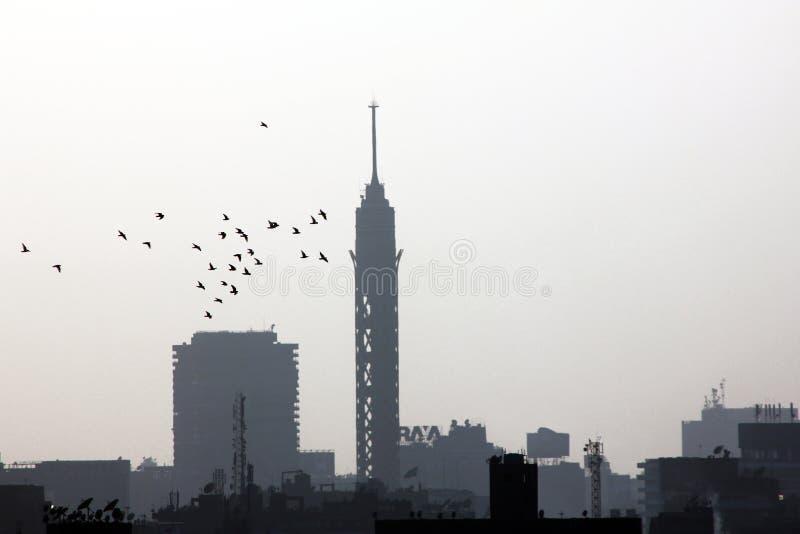 Kairotorn arkivfoto