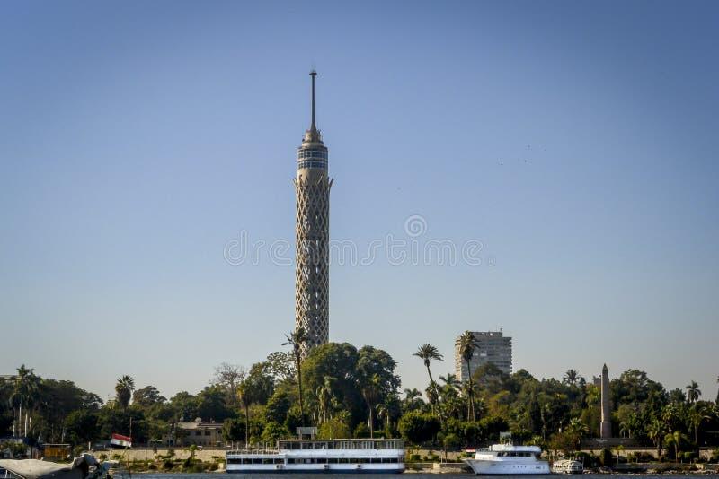 KairoTVtorn royaltyfri foto