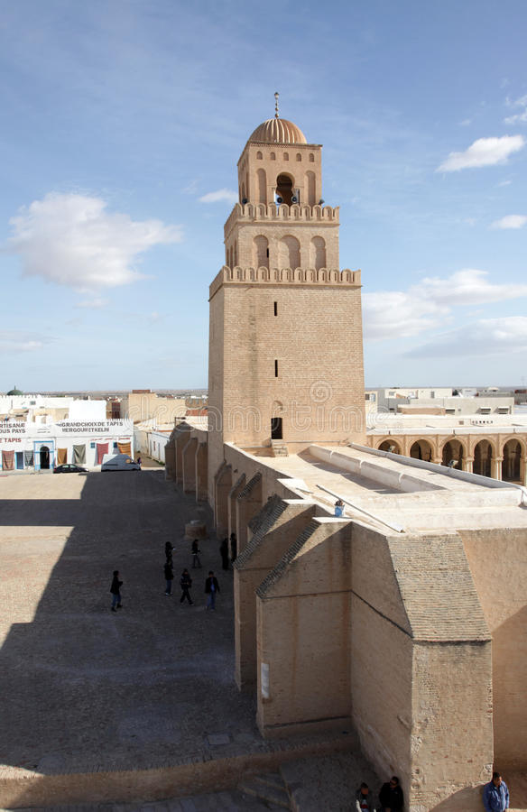 kairouan μουσουλμανικό τέμενο&sig στοκ εικόνες με δικαίωμα ελεύθερης χρήσης