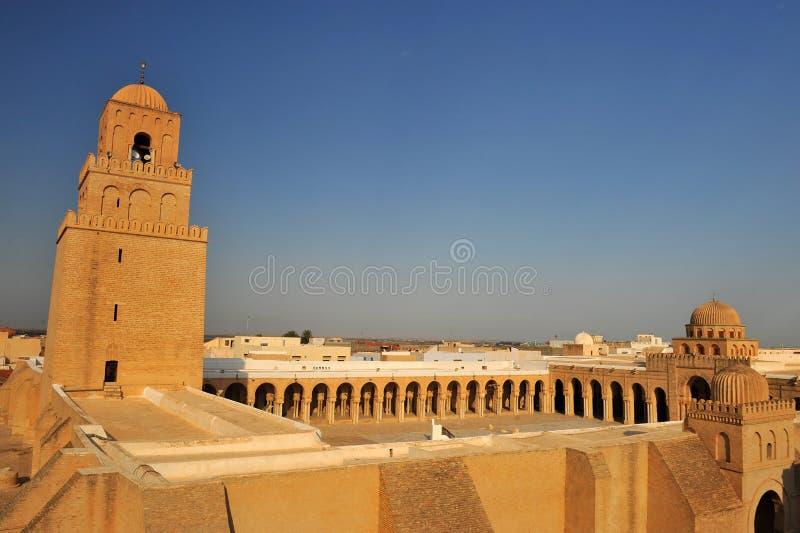 Kairouan mosque stock image