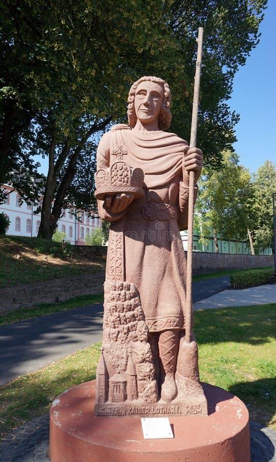 Kaiser Lothar I images libres de droits