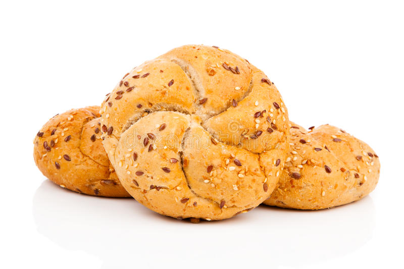 Download Kaiser Roll With Sesame Seeds Stock Photo - Image: 83724060