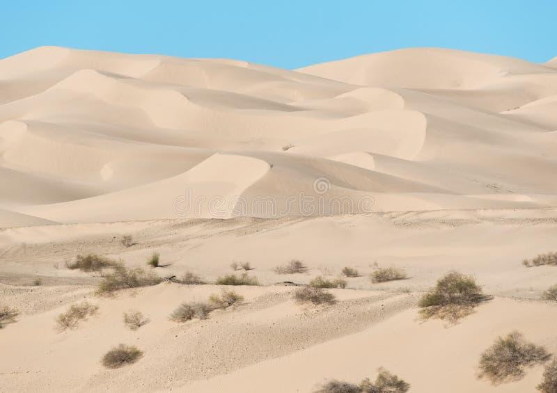 Kaiser- Sanddünen, Süd-Kalifornien lizenzfreie stockfotografie