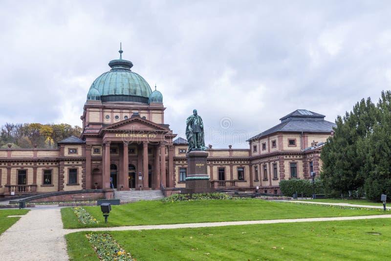 Kaiser Wilhelm Bad i dålig Homburg arkivbilder