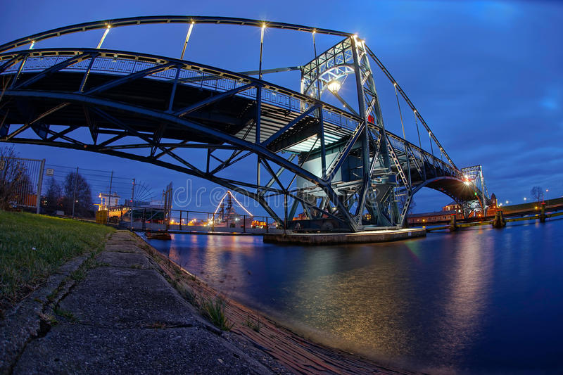 Kaiser Wilhelm Bridge stock foto