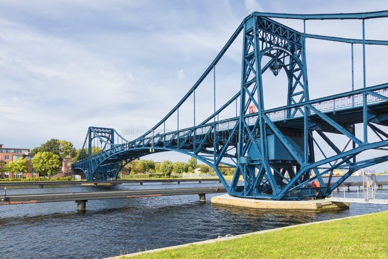 Kaiser Wilhelm Bridge chez Wilhelmshaven images stock