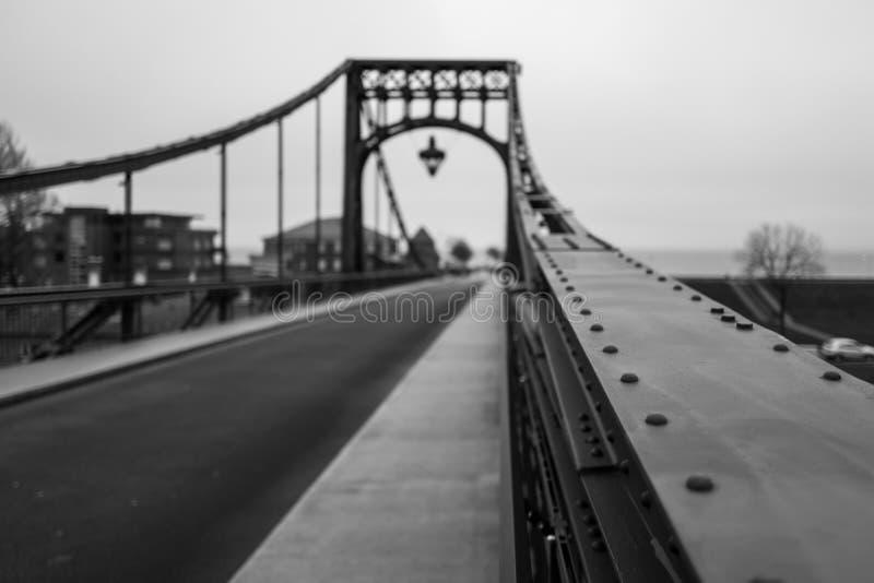 Kaiser Wilhelm Bridge dans Wilhelmshaven image libre de droits
