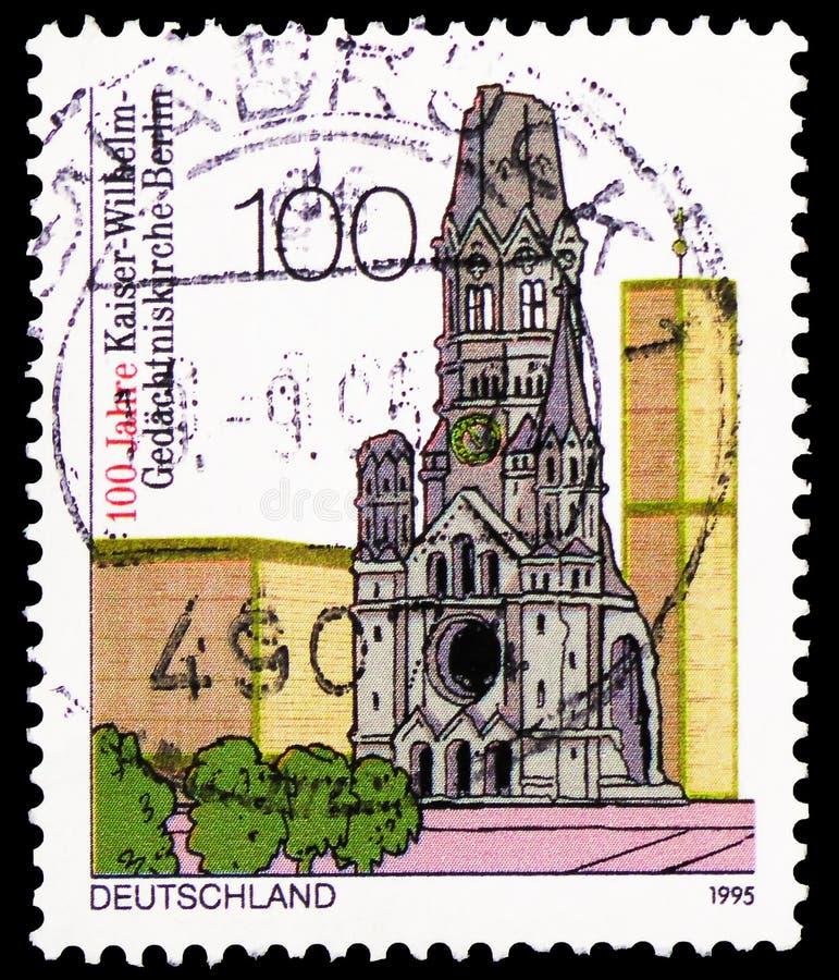 Kaiser Wilhelm Gedächtniskirche, αναμνηστική εκκλησία, Βερολίνο, εκατονταετία Kaiser Wilhelm Memorial Church, Βερολίνο serie, ci στοκ φωτογραφίες