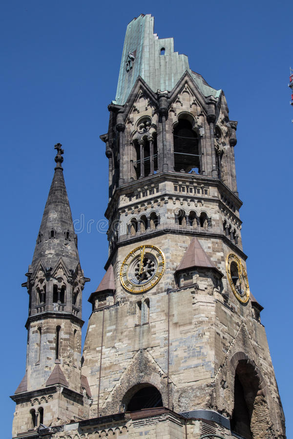 Kaiser Wilhelm Gedaechtniskirche/église, Berlin photo libre de droits