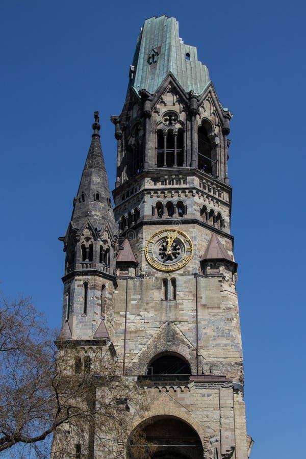 Kaiser Wilhelm Gedaechtniskirche/église, Berlin photos stock
