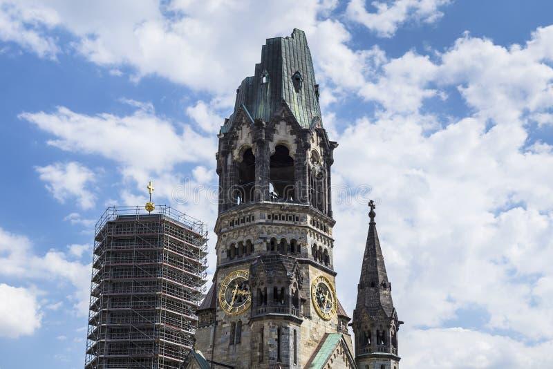 Kaiser-Wilhelm-Kirche à Berlin, Allemagne image stock