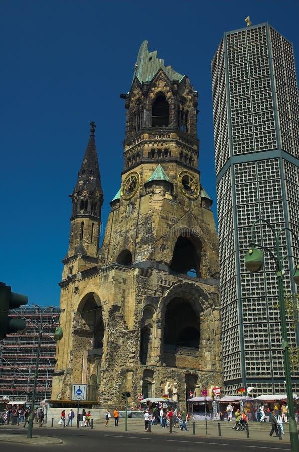 Free Kaiser Wilhelm Memorial Church Royalty Free Stock Photos - 1219478