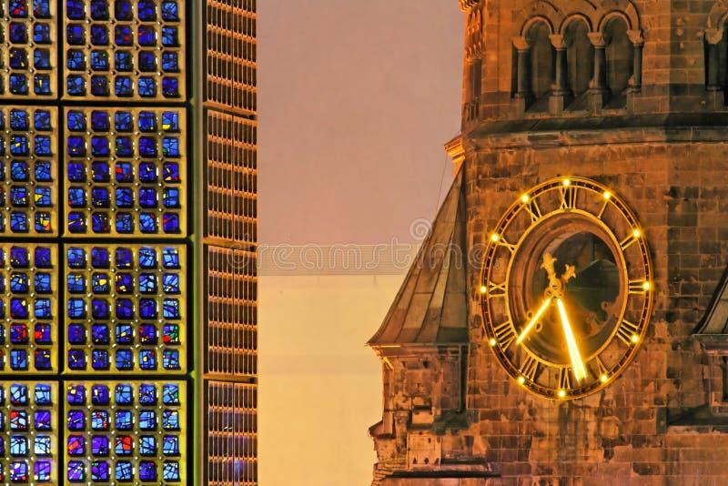 Download Kaiser Wilhelm Memorial Church Stock Photo - Image: 2104134