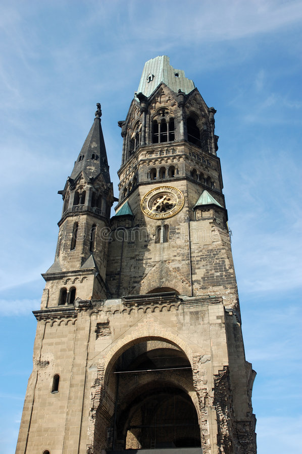Download Kaiser Wilhelm Memorial Church Stock Image - Image: 2305261